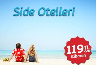 Side Erken Rezervasyon Otelleri