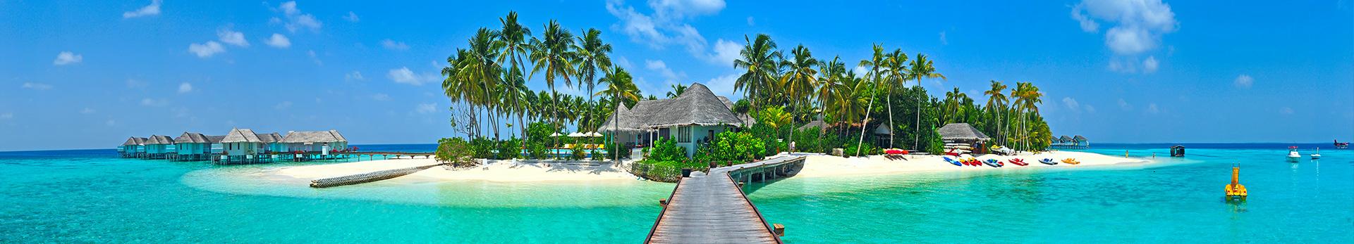 Maldivler Panoramik