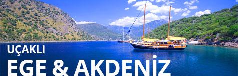 Uçaklı Ege Akdeniz Turları